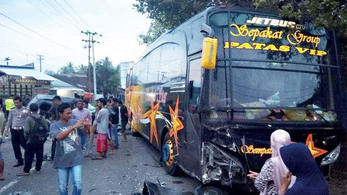Lagi Bus Sempati Star Terlibat Tabrakan Maut Serambi Indonesia