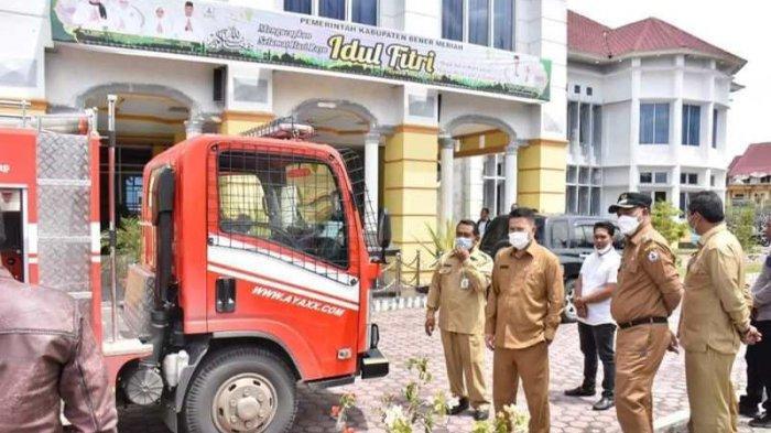 Plt Bupati Bener Meriah Test Drive Damkar Baru Berkapasitas 4.000 Liter