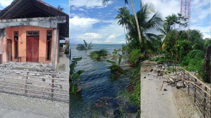 Gempa M 6,1 Guncang Maluku Tengah, Air Laut Sempat Surut, Warga Mengungsi ke Hutan, Rumah Rusak