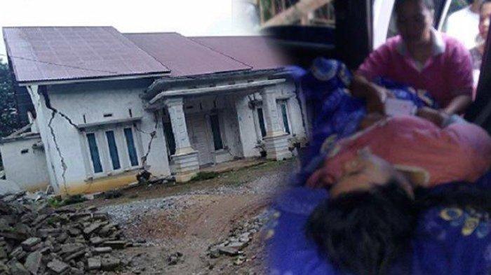 Dampak Gempa Sumbar - Jumlah Korban Luka Bertambah Jadi 48 Orang, 101 Rumah di Solok Selatan Rusak