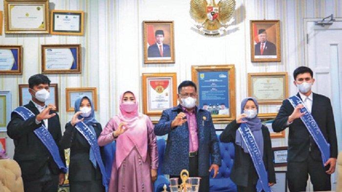 Wali Kota Jamu 4 Rangers Aceh, Program HAN Sehari Menjadi Pemimpin