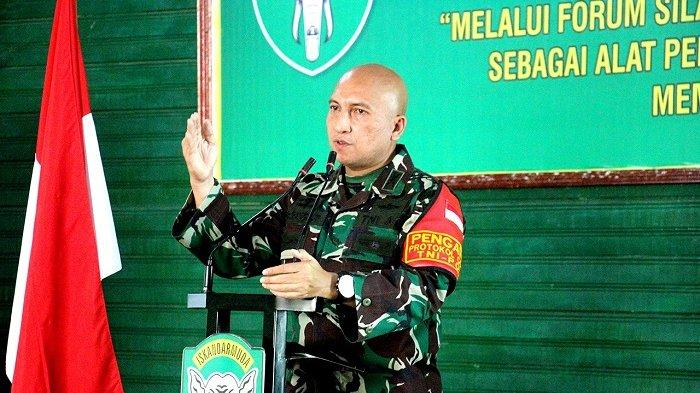 Dandim 0101/BS Ajak Jalin Sinergitas dengan Wartawan dalam Menjaga Perdamaian