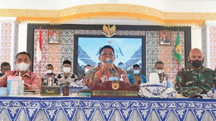 Gubernur Apresiasi Banda Aceh Salurkan Bantuan Beras PPKM 100 Persen