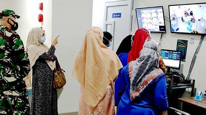 Dandim 0101/BS Tinjau Ruang Pinere RSUZA Banda Aceh
