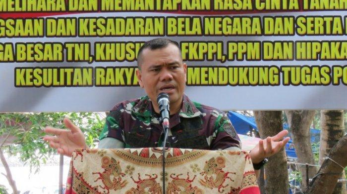 Dandim 0101/BS Tegaskan Netralitas TNI dalam Pemilu 17 April 2019