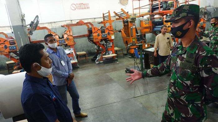 Dandim Aceh Utara Mengunjungi Kantor Biro Serambi Indonesia Lhokseumawe, Ini Pesannya