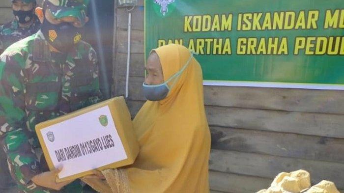 Dandim 0113/Gayo Lues Mulai Salurkan Bantuan dari Kodam Iskandar Muda