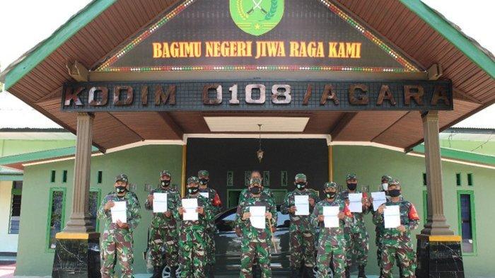 Dandim 0108/Aceh Tenggara Ajak Personel Tuntaskan Vaksin Sinovac Covid-19