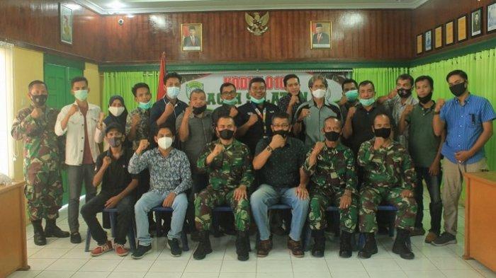 Jelang Ramadhan, Dandim Aceh Selatan Gelar Silaturahmi Dengan Wartawan