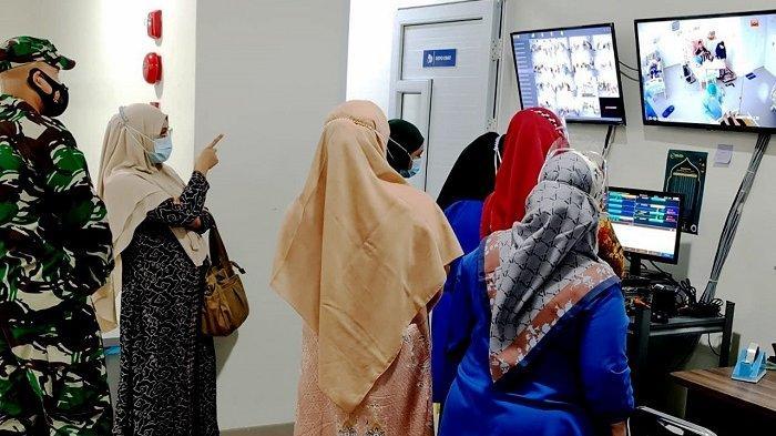 Dandim 0101/BS Tinjau Ruang Pinere di RSUZA, Usulkan Penambahan Tenaga Kesehatan