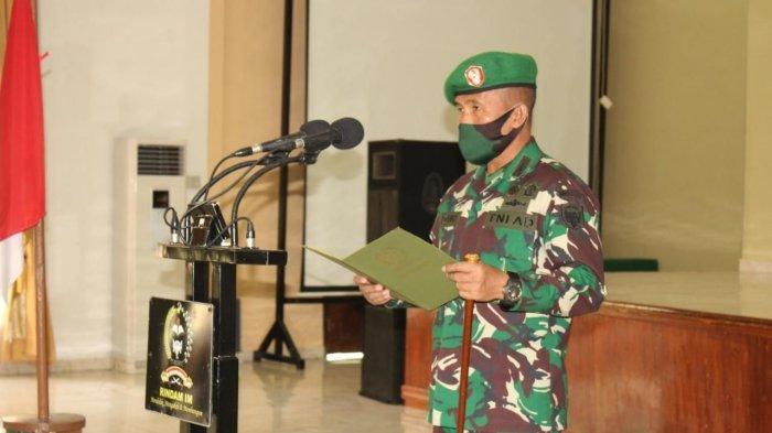 Danrindam IM Buka Pendidikan Pembentukan Bintara Khusus Babinsa TNI AD, Ini Jumlah yang Mengikutinya