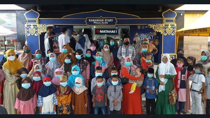 Jelang Lebaran, Darwati A Gani Bawa Puluhan Anak ke 'Matahari', untuk Apa?