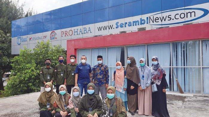 Santri Dayah Insan Qurani Belajar Jurnalistik di Serambi