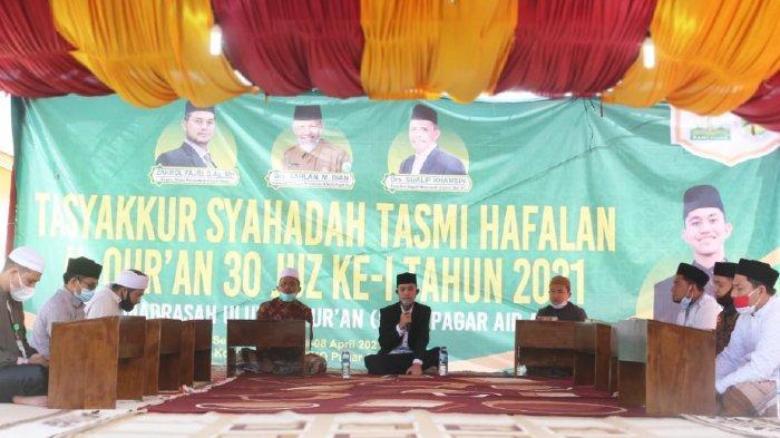 Perdana Sejak 1989, Dayah MUQ Pagar Air Gelar Tasmi' dan Syahadah Hafalan Quran 30 Juz