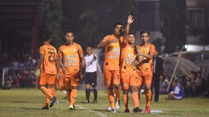 Tiga Menit Babak Kedua, Defri Riski Cetak Gol dan Bawa Persiraja Unggul 1-0 atas PSMS Medan