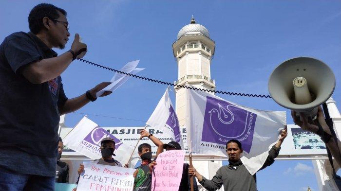 AJI Tagih Janji Kapolda Aceh untuk Menangkap Pelaku Pembakaran Rumah Wartawan di Agara