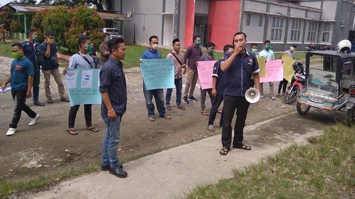 Karang Taruna Demo Dinsos Aceh Tenggara, Protes Bantuan Sembako tak Tepat Sasaran
