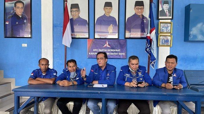 DPC Partai Demokrat Abdya Tolak Hasil KLB di Deli Serdang Sumatera Utara