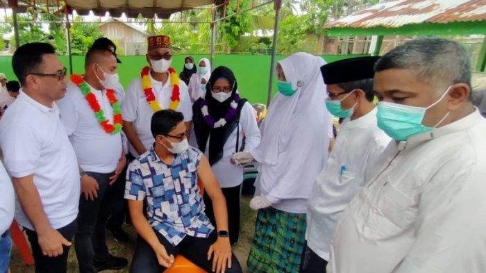 52 Ribu Warga Bireuen Sudah Divaksin, Demokrat Gelar Vaksinasi di Aceh dan Bantu 1.000 Dosis Vaksin