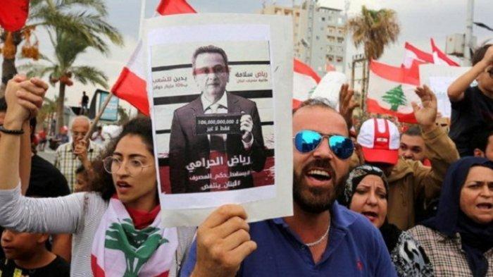 Gubernur Bank Sentral Lebanon Terancam Jadi Tersangka, Gelapkan Dana Rp 4,3 Triliun