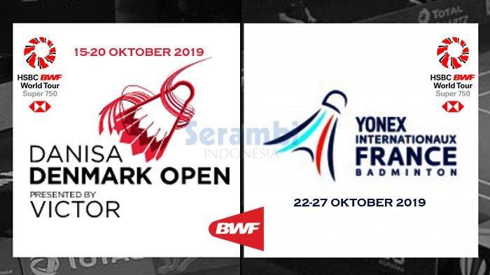 Hasil Drawing Denmark Open & French Open 2019 - Marcus/Kevin dan Ahsan/Hendra Masih Unggulan Teratas