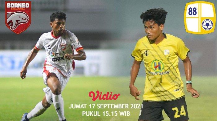 Live Streaming Derby Papadaan, Laga Bergengsi Borneo FC vs Barito Putera Sore Ini Pukul 15.15 WIB
