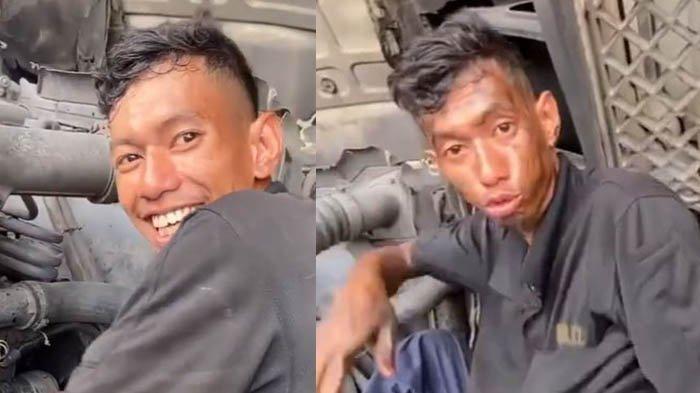 Video Pria Latah, Diganggu saat Tangan Penuh Oli, Auto Usap Wajah seperti Sedang Berwudhu