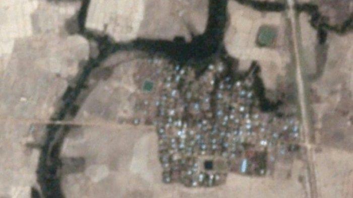 Tentara Myanmar Buimihanguskan Rumah Muslim Rohingya di Rakhine