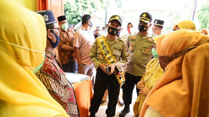 Wadir Binmas Polda Aceh Cek Posko Covid-19 di Kecamatan Baiturrahman, Ini Pesannya kepada Petugas