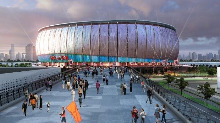 Megahnya StadionJIS Markas Baru Persija, Pecahkan Rekor MURI, Atap Buka Tutup hingga Rumput Hybrid
