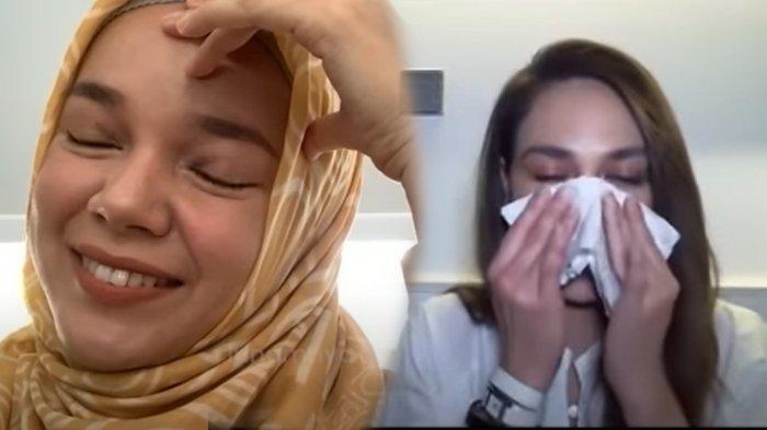 Dengar Kisah Hijrah Dewi Sandra, Luna Maya Nangis dan Merasa Tak Pantas Untuk Berdoa