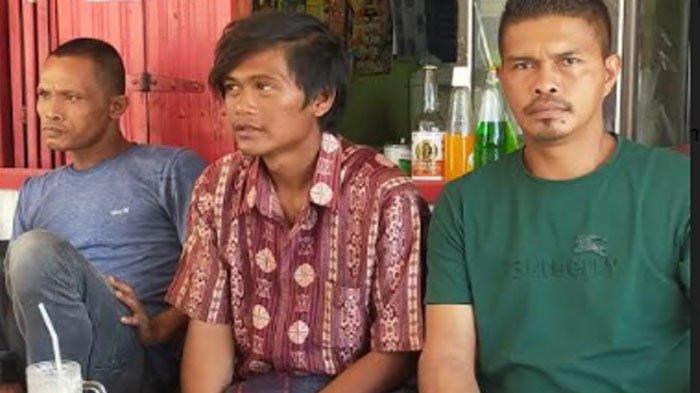 Nelayan Idi Selamatkan Seorang Nelayan Thailand setelah Boat yang Ditumpangi Tenggelam