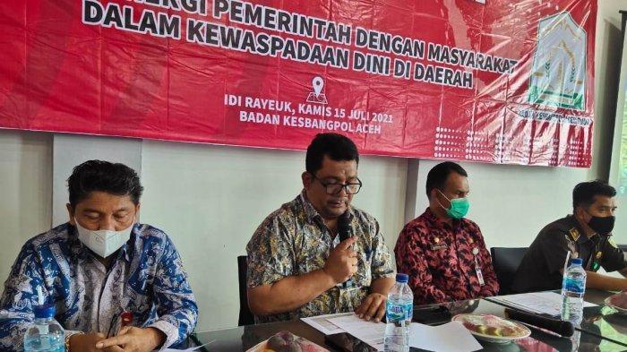 Kesbangpol Aceh Gelar Dialog Isu Aktual ke-VII di Aceh Timur