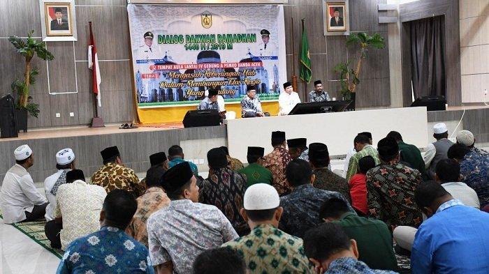 Ada Dialog Dakwah Ramadhan di Balai Kota Banda Aceh,  Ini Daftar Penceramah dan Jadwalnya
