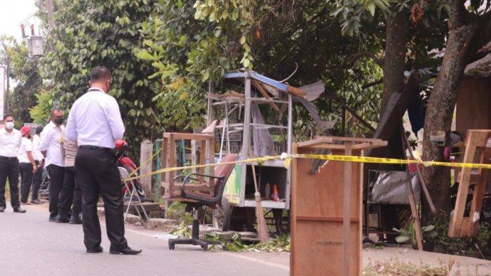 Polisi Kembali ke Lokasi Ledakan di Lhong Raya, Tiga Saksi Dimintai Keterangannya