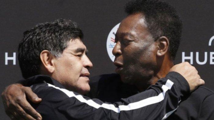 Diego Maradona dan Pele