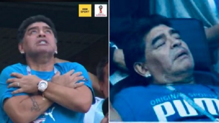 Dokter Pribadi Maradona Menangis Ditangkap Polisi, Diduga Bunuh Diego Maradona Secara Tidak Sengaja