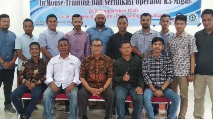 Diklat Aceh Petroleum Institut bersama Petroschool Idi Latih 20 Pemuda Hadapi Eksploitasi Migas