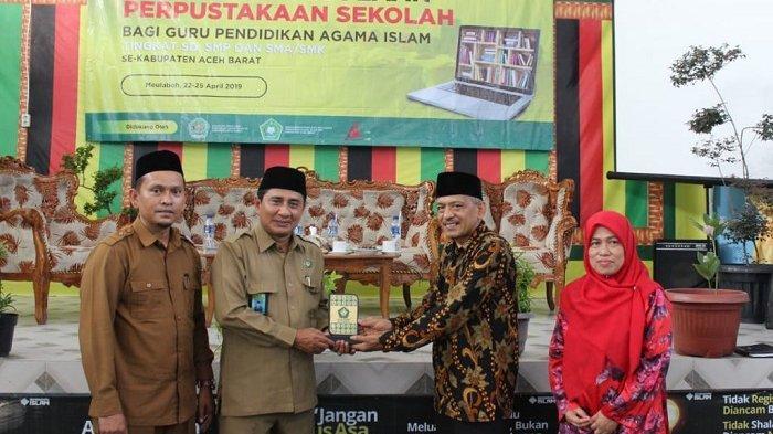 Kemenag Aceh Barat Gelar Diklat Perpustakaan untuk Guru, Jalin Kerja Sama dengan UIN