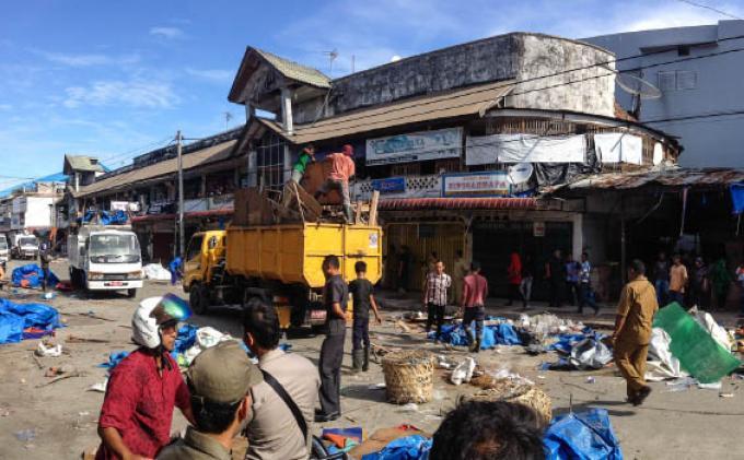 150 Petugas Dikerahkan untuk Bersihkan Kota