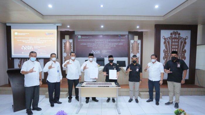Program Kerjasama Dinas Perpustakaan dan Kearsipan Aceh dengan Puslatbang Khan LAN RI