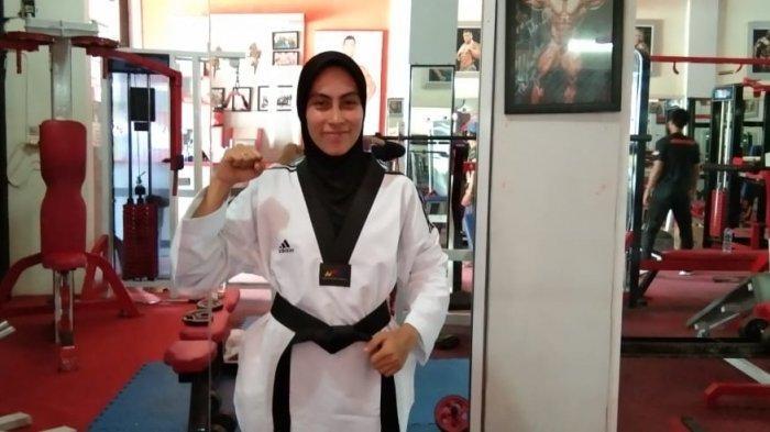 Dinda, Gadis Pidie Miliki Prestasi Taekwondo Hingga Tingkat Internasional