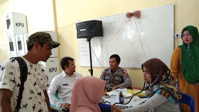Tim Medis Aceh Tengah Cek Kondisi Kesehatan Petugas Penyelenggara Pemilu, Siapa Saja Mereka