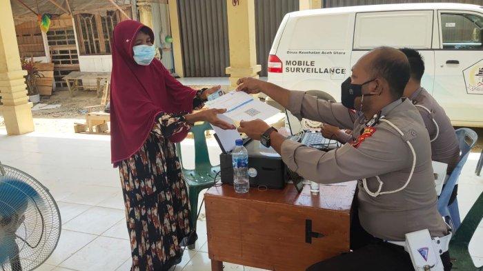 Dinas Kesehatan Aceh Utara Bersama TNI-Polri Adakan Vaksinasi di 34 Titik
