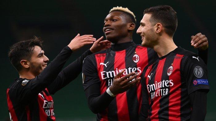 AC Milan Akhiri Tahun 2020 dengan Status Pemuncak Klasemen