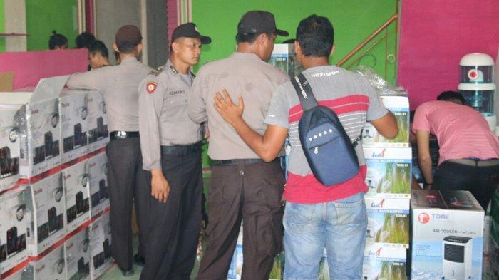 Polisi Amankan 10 Karyawan LHA