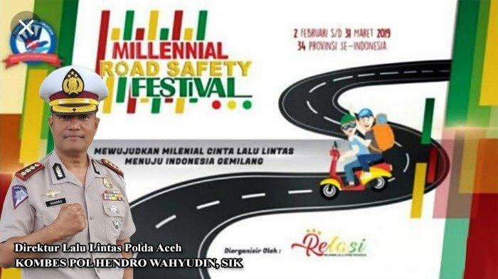 Millenial Road Safety Festival Polres Aceh Utara Sediakan Tiket Umrah dan Dua Sepmor untuk Peserta