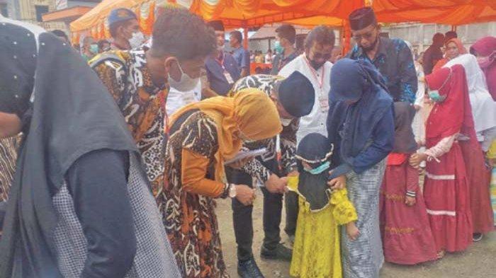 Pimpinan PT Takabeya Group Santuni 160 Anak Yatim