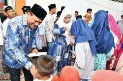 Keluarga Besar PT Takabeya Perkasa Group Buka Puasa Bersama Anak Yatim