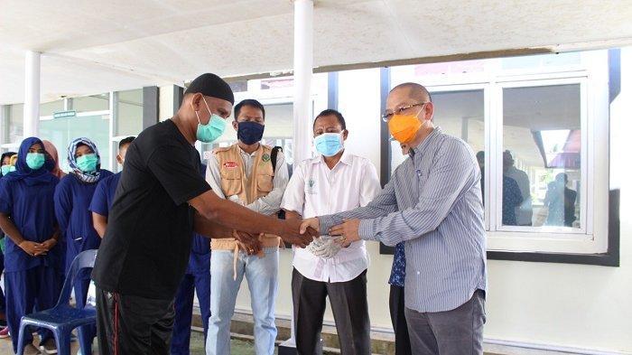 Dinyatakan Sembuh, Pasien Positif Covid-19 Asal Aceh Tamiang Dipulangkan